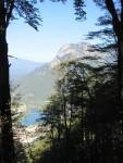 Blick auf Badesee Tieber in Röthelstein