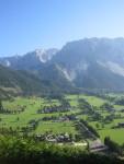 Panorama Ramsau - Schildlehen und Dachsteinmassiv