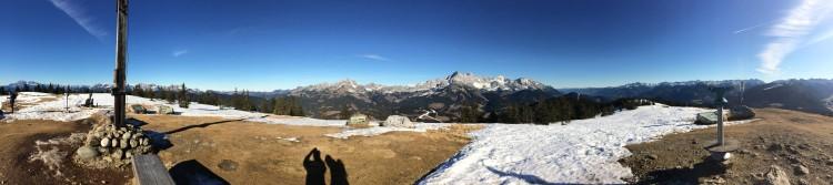 Gipfelpanorama Rossbrand