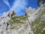 Aufstieg Bärenloch