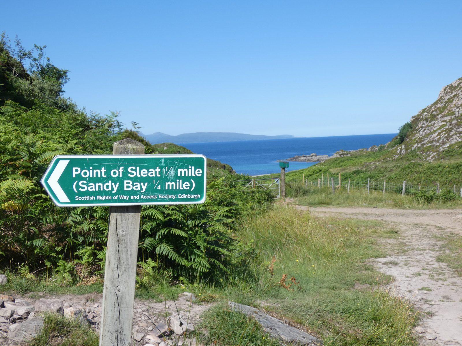 Abzweigung Port of Sleat