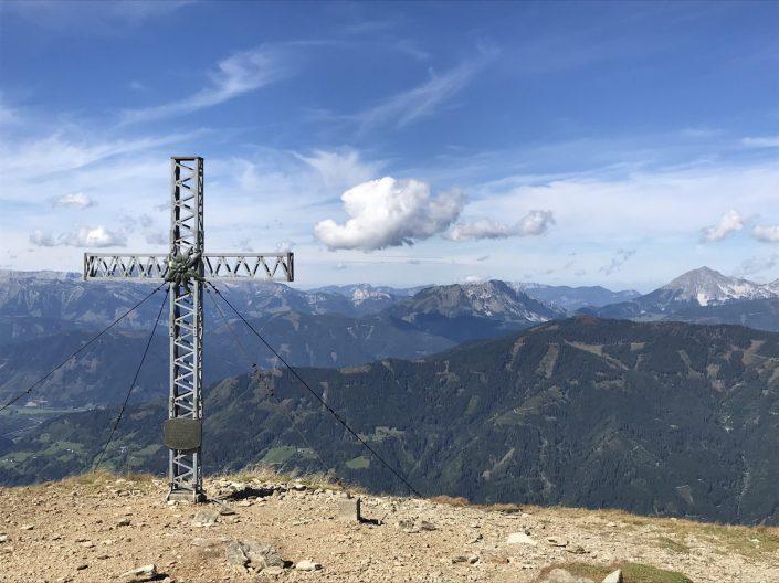 Gipfelkreuz Steinernes Manndl