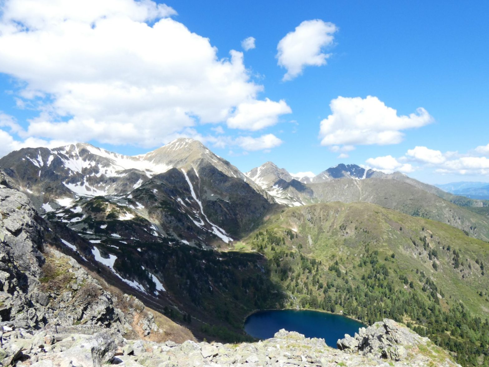 Die Bösensteins und Großer Scheibelsee