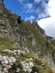 Gipfelkreuz am Krumpenhals