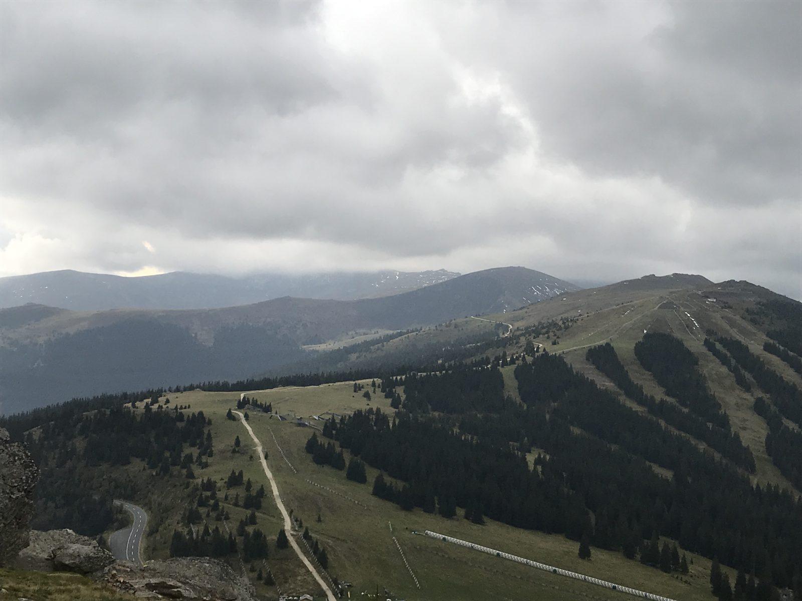 Blick zu Moschkogel und Großer Speikkogel