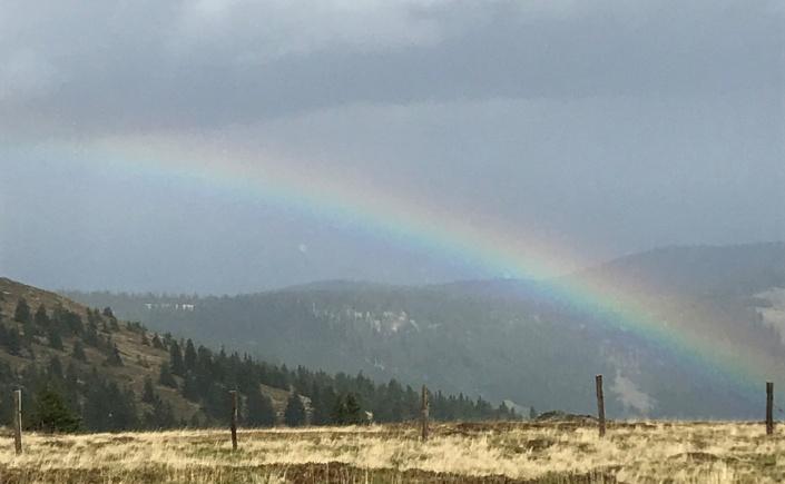 Regenbogen beim Weberkogel